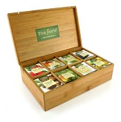 Product Image. Title: Tea Discovery Set - Bamboo Box with Filterbags
