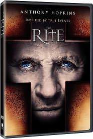 The Rite starring Anthony Hopkins: DVD Cover