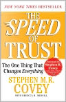 Book Cover Image. Title: The Speed of Trust: The One Thing That Changes Everything, Author: by Stephen M. R. Covey