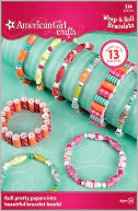 American Girl Crafts Wrap & Roll Bracelet Kit: Product Image
