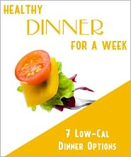 Anonymous - Healthy Dinner For A Week
