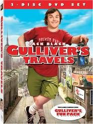 Gulliver's Travels starring Jack Black: DVD Cover