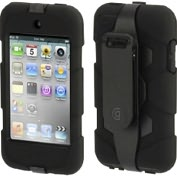 Product Image. Title: Griffin Survivor GB01986 Carrying Case for iPod - Black