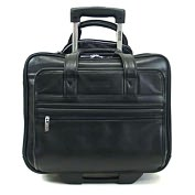 "Product Image. Title: Kenneth Cole 520805 Carrying Case (Portfolio) for 15.4"" Notebook - Black"