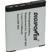 Product Image. Title: DigiPower BP-BN1 Digital Camera Battery