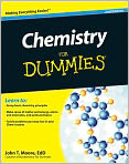 Book Cover Image. Title: Chemistry For Dummies, Author: John T. Moore,�John T. Moore