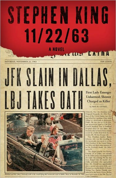 book cover of 11/22/63 by Stephen King