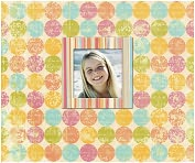 Product Image. Title: Perfect Bound Photo Scrap Album-Dottie