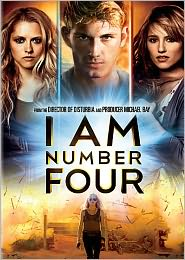 I Am Number Four starring Alex Pettyfer: DVD Cover