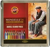 Product Image. Title: Mondeluz Aquarell Watercolor Pencils 24/Pkg