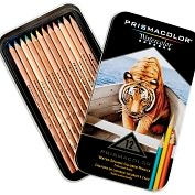 Product Image. Title: Prismacolor Watercolor Pencil Set 12/Tin