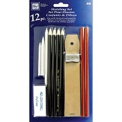 Product Image. Title: Sketching Set-12 Pieces