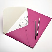 Product Image. Title: Moleskine Folio Professional Dark Pink Folder