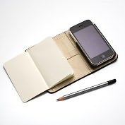 Product Image. Title: Moleskine Folio Digital iPhone 3G/3GS Cover
