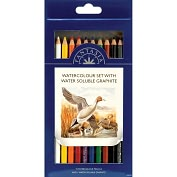 Product Image. Title: Pro Art Fantasia Pencils 10/Pkg-Watercolor