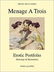 Whitworth Karlin - MENAGE A TROIS - Erotic Portfolio - Drawings & Illustrations