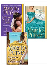 Mary Balogh - Mary Jo Putney Bundle: Nowhere Near Respectable, Never Less Than A Lady, Loving a Lost Lord,