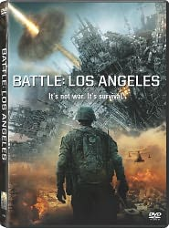 Battle: Los Angeles starring Aaron Eckhart: DVD Cover