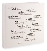 Product Image. Title: This Is My Wish for You Bound Lined Journal 8X8
