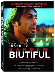 Biutiful starring Javier Bardem: DVD Cover