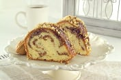 Product Image. Title: Sandy's Sour Cream Coffee Cake