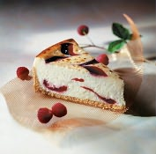 Product Image. Title: Raspberry White Chocolate Cheese Brul�e�