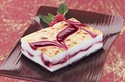 Product Image. Title: Brul�e Raspberry White Chocolate Cheese Bars