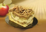 Product Image. Title: Apple Crumb Bars