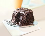 Product Image. Title: Molten Chocolate Cake