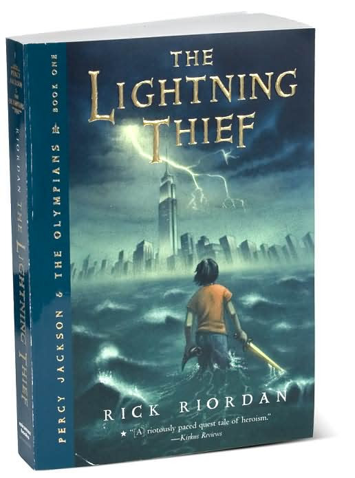 book review on the lightning thief