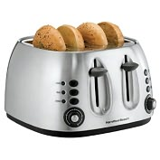 Product Image. Title: Hamilton Beach 24504 Four Slice Toaster