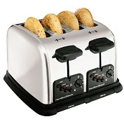 Product Image. Title: Hamilton Beach 24600 Four Slice Toaster
