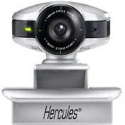 Product Image. Title: Hercules Dualpix HD Webcam - Silver, Black