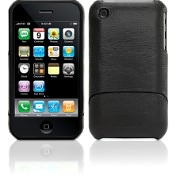 Product Image. Title: Elan Form for iPhone 4 in Black Leather