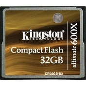 Product Image. Title: Kingston Ultimate CF/32GB-U3 32 GB CompactFlash (CF) Card - 1 Card