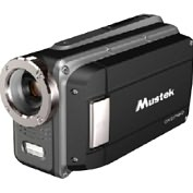 Product Image. Title: Mustek HDV527W Digital Camcorder - 2.7&quot; LCD - CMOS - HD - Black