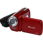 Product Image. Title: Mustek DV518L Digital Camcorder - 1.8&quot; LCD - CMOS - SD - Red