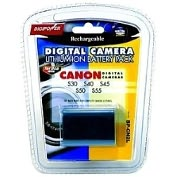 Product Image. Title: Mizco Li-Ion Digital Camera Battery
