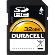 Product Image. Title: Duracell DU-SD-32GB-R 32 GB Secure Digital High Capacity (SDHC) - 1 Card