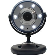 Product Image. Title: Gear Head WC1100BLU Webcam - 1.3 Megapixel - Blue, Black - USB 2.0