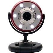 Product Image. Title: Gear Head WC1200RED Webcam - 1.3 Megapixel - Red, Black - USB 2.0
