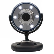 Product Image. Title: Gear Head WCF2600HDBLU Webcam - Blue, Black - USB 2.0