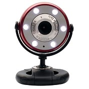 Product Image. Title: Gear Head WCF2750HDRED Webcam - Red, Black - USB 2.0