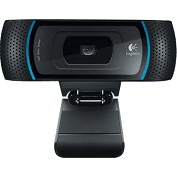 Product Image. Title: Logitech B910 Webcam - 5 Megapixel - USB 2.0