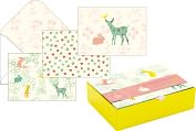 Product Image. Title: Woodland Animals Assorted Boxed Note Card Set of 15