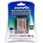 Product Image. Title: Digipower Lithium Ion Digital Camera Battery - 850mAh