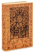 Product Image. Title: Antique Tree of Life Printed Italian Lined Leather Journal 6 X 8
