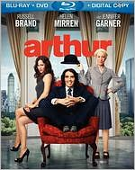 Arthur starring Russell Brand: Blu-ray Cover