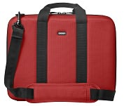 "Product Image. Title: Cocoon CLB353RD Carrying Case for 13"" Notebook - Red, Brown"