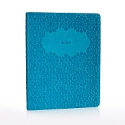 Product Image. Title: Jonathan Adler Meadow Mosaic Soft Teal Journal (6x8)